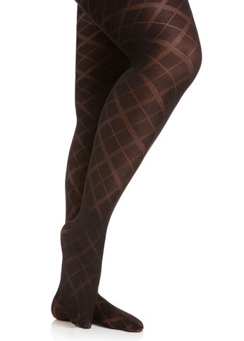 Thin Argyle Tights
