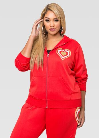 Flawless Hooded Scuba Jacket