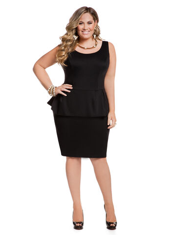 Web Exclusive: Peplum Dress