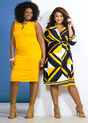 Citrus Besties Plus Size Outfit