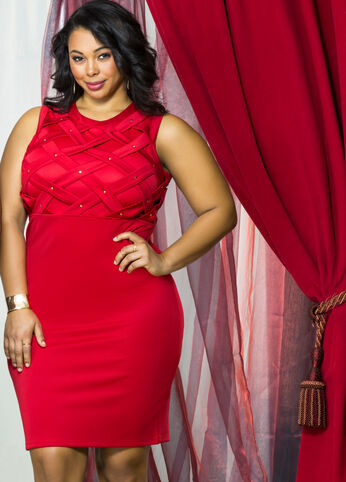 Red Hot Plus Size Outfits