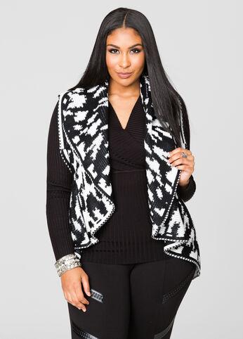 Knit Animal Vest
