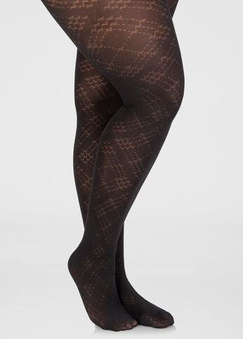 Footed Argyle Tights