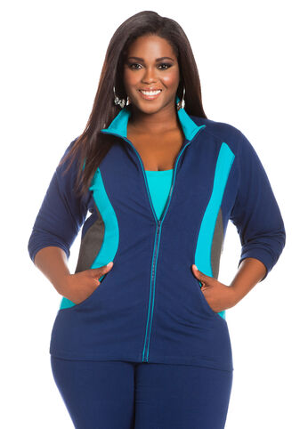 Color Block Active Jacket