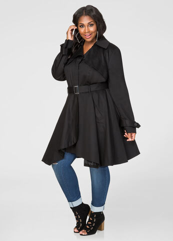 Sharkbite Belted Trench Coat