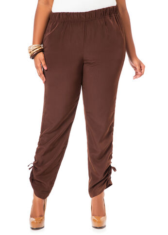 Ruched Leg Soft Pants