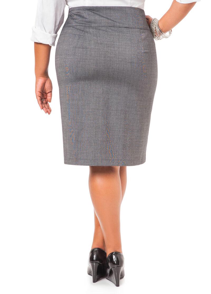 Back Zip Skirt 68