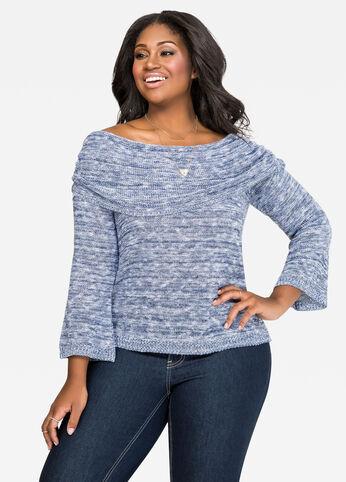 Bell Sleeve Marilyn Sweater