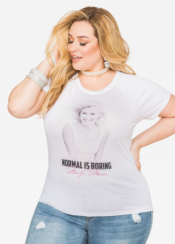Normal Is Boring Hi-Lo Tee