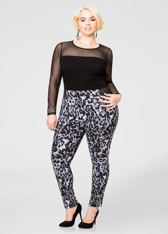 Printed Millennium Pull On Pant