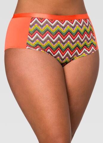 Tribal Micro Boyleg Panty