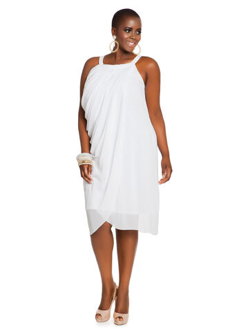 Draped Chiffon Goddess Dress