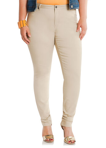 Rattan Beige Jeggings