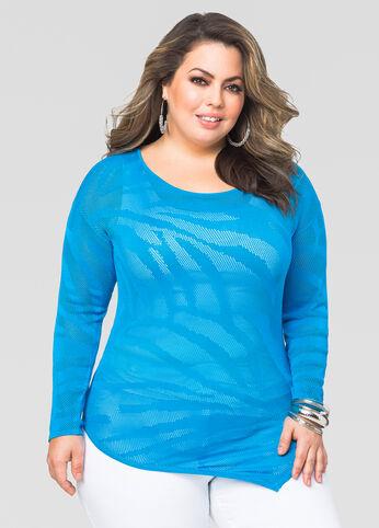 Palm Stitch Pullover