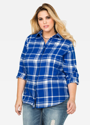 Two Pocket Flannel Shirt