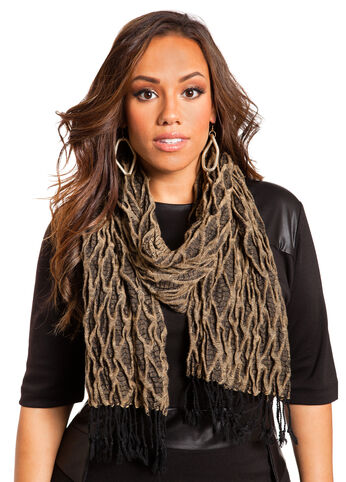 Diamond Textured Scarf
