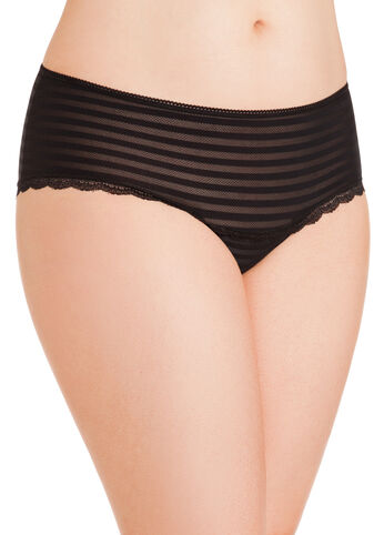 Shadow Stripe Hipster Panties