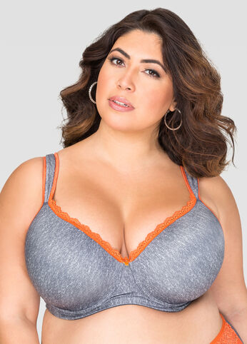 Full Coverage Butterfly Bra