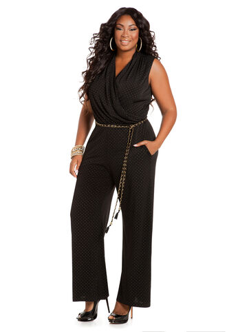 Gold Dot Jumpsuit