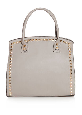 Stud Trim Satchel