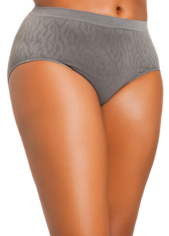 Jacquard Simply Seamless Briefs