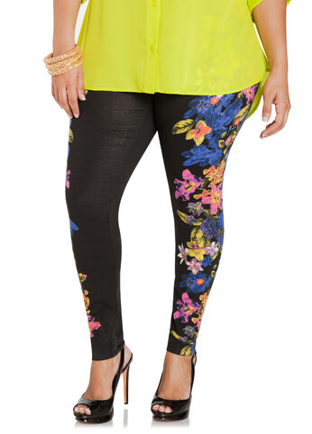 Mirror Floral Leggings