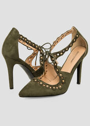 Cut-Out Pointy Toe Pump - Wide Width