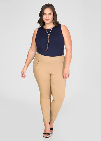 Ultra Stretch Zip Skinny Pant