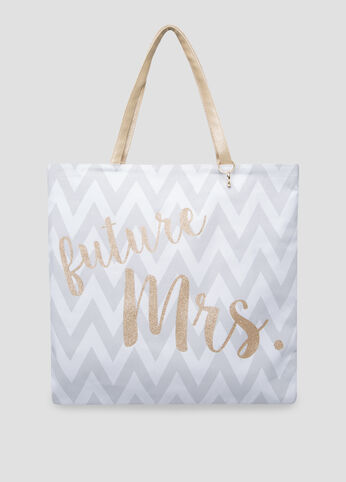 Reversible Bride To Be Tote
