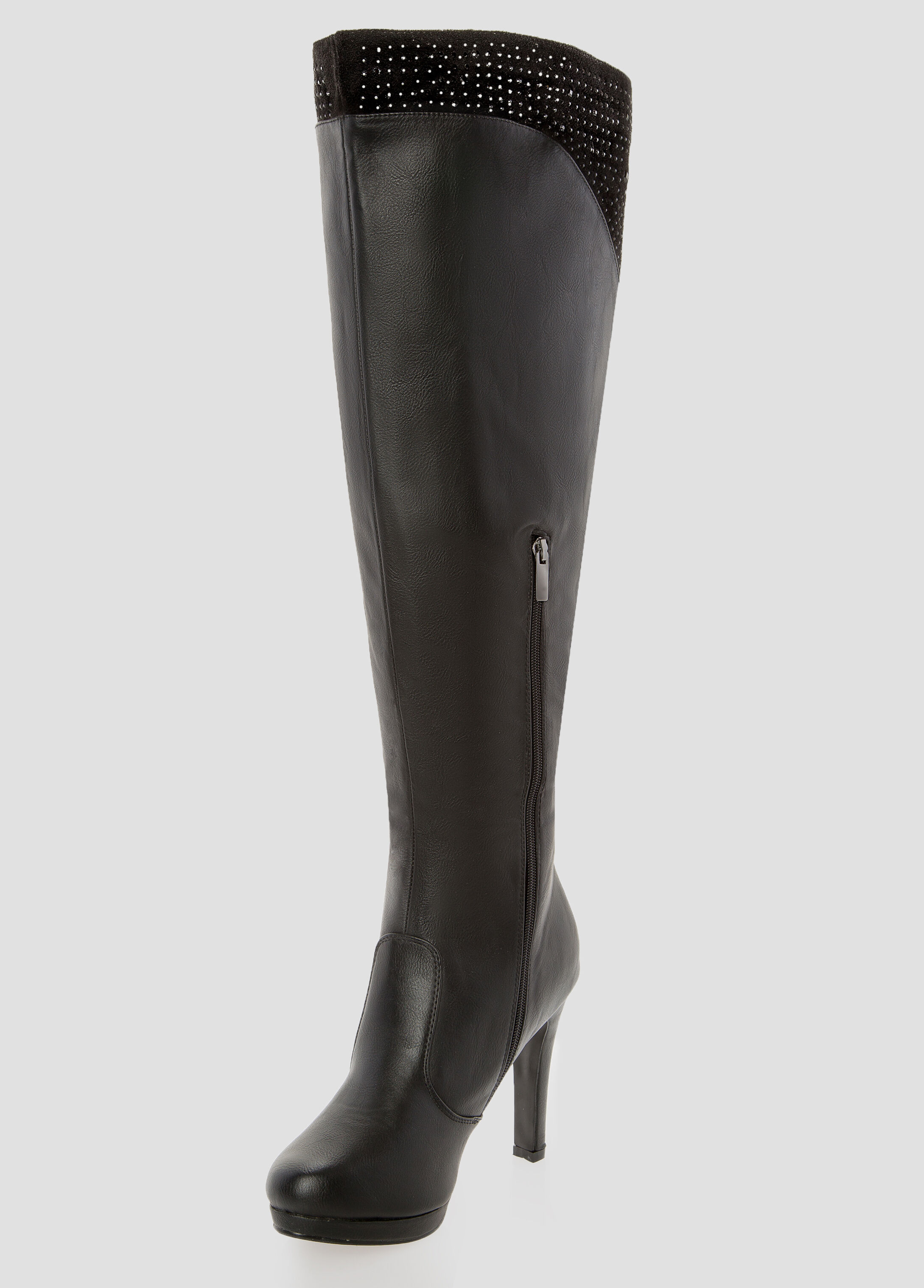 Over The Knee Boots Wide Calf JSS91FE0