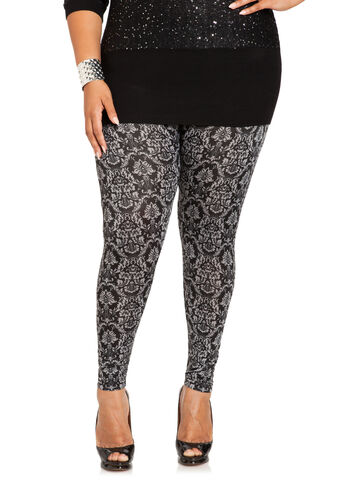 Baroque Leggings