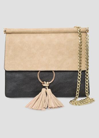 Tassel Ring Chain  Shoulder Bag