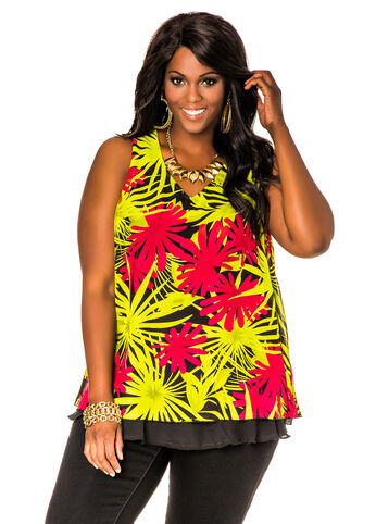 Tropical Double Layer Tank