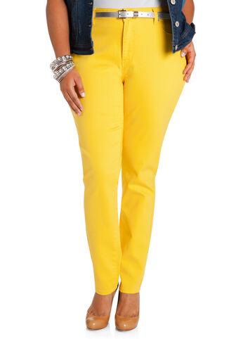 Yellow Jeggings