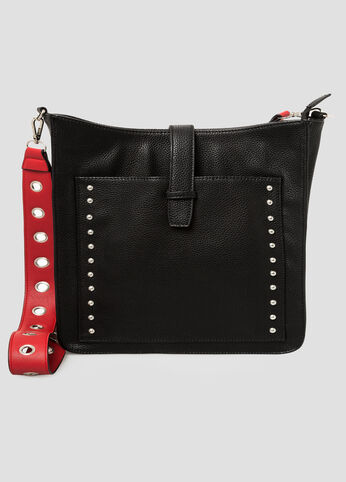 Grommet Strap Crossbody Bag