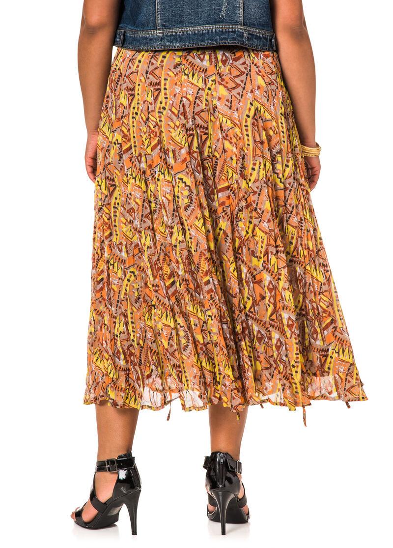 Tribal Print Skirt 40