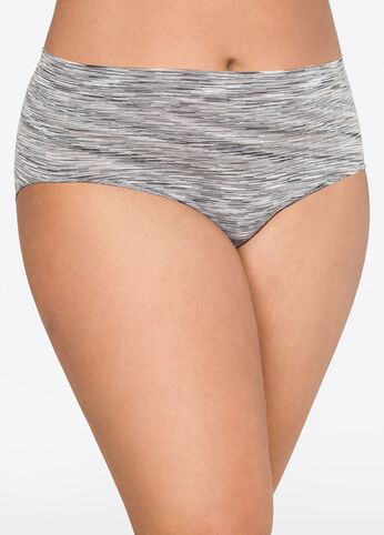 Space Dye Seamless Brief Panty
