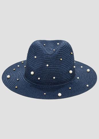 Pearl Straw Panama Hat