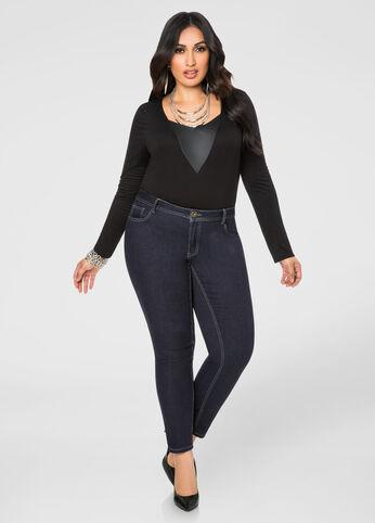 Average Five Pocket Skinny Jean