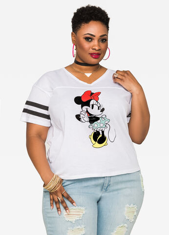 Classic Disney Minnie Mouse Hi-Lo Tee