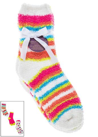 Striped Cozy Socks