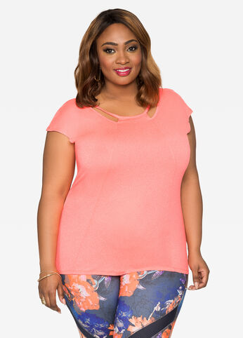 Cut-Out Active Top
