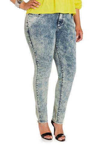Cloud Wash Skinny Jeans