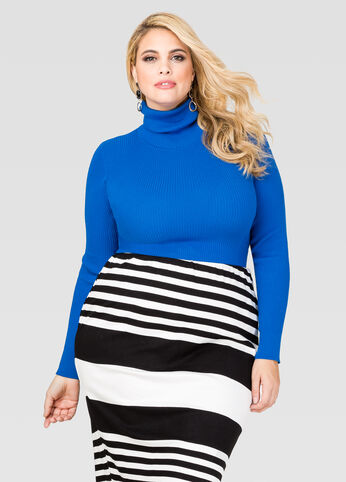 Basic Ribbed Turtleneck
