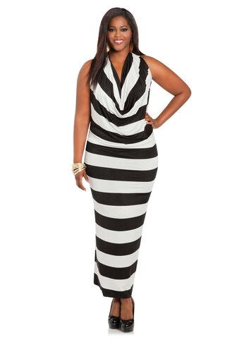Bold Stripe 4-Way Dress