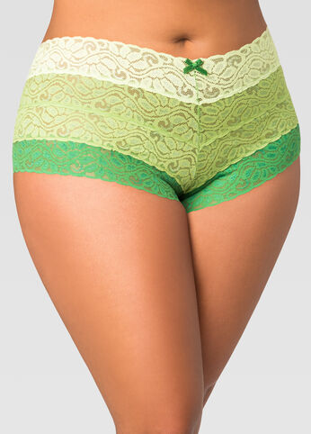 Ombre Lace Hipster Panty