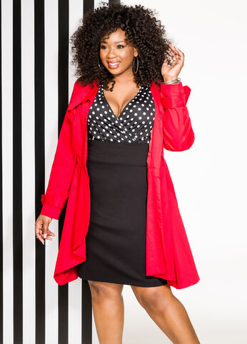 Polka Dot Diva Plus Size Outfit