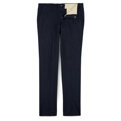 Wool Stove Pipe Trousers