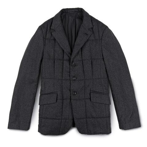 Thermal Quilted Wool Bob Lana Blazer