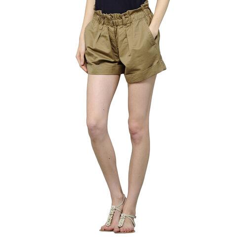 Shorts Con Cintura Elastica